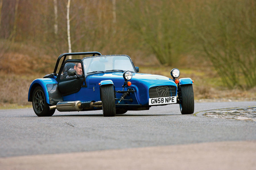 Caterham Roadsport drifting