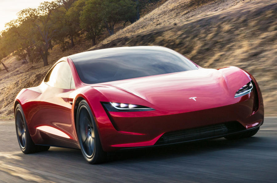 Tesla Roadster revealed as quickest accelerating road car yet