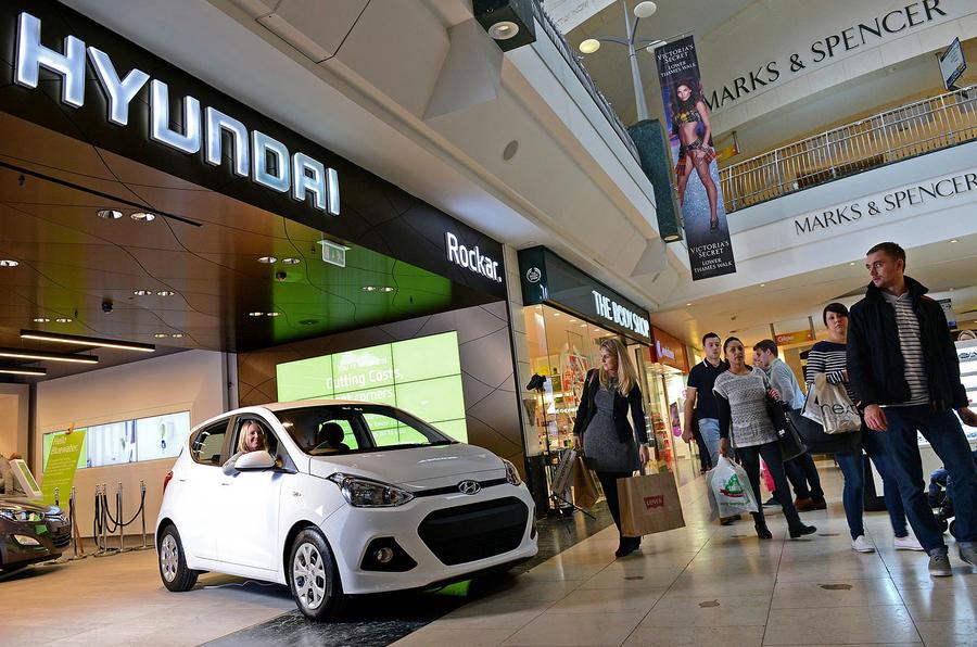 Second Rockar Hyundai Digital Car Store Opens In London