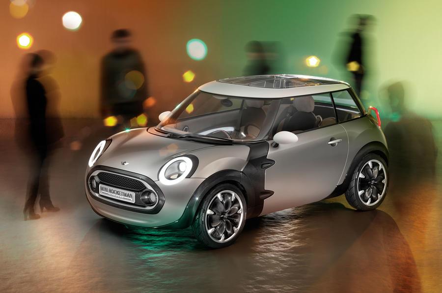 Mini Rocketman electric car concept