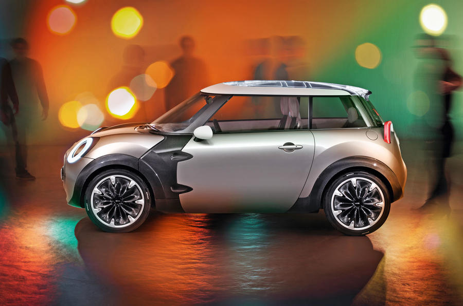 Mini Rocketman electric car concept