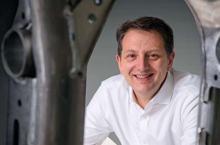 JLR engineering boss Nick Rogers