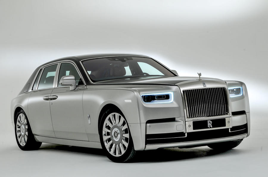2018 Rolls-Royce Phantom VIII revealed as flagship model ...