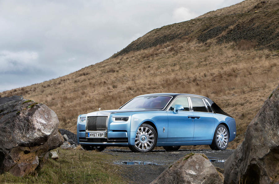 Luxury Vehicle: Rolls-Royce Phantom 2018 UK Review