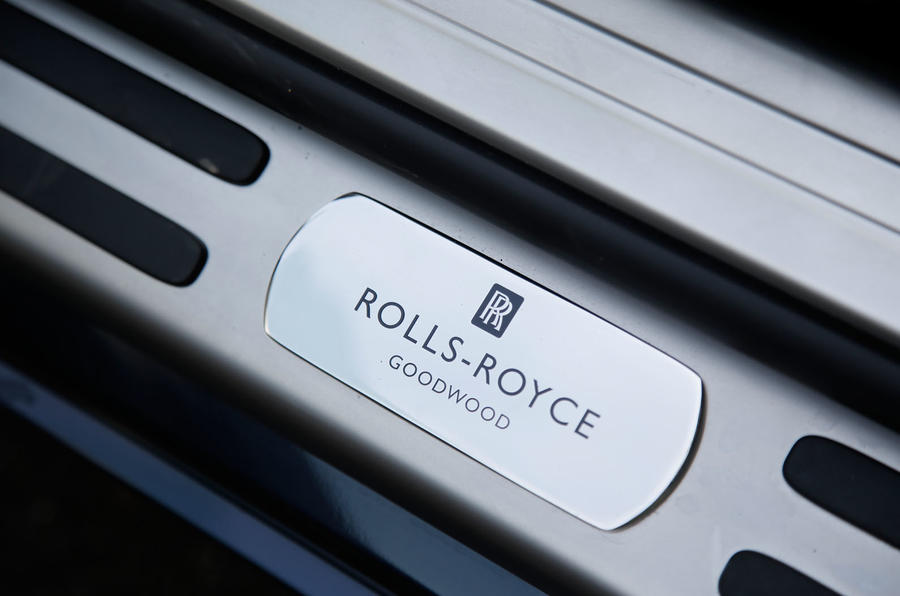 Rolls-Royce Goodwood plaque