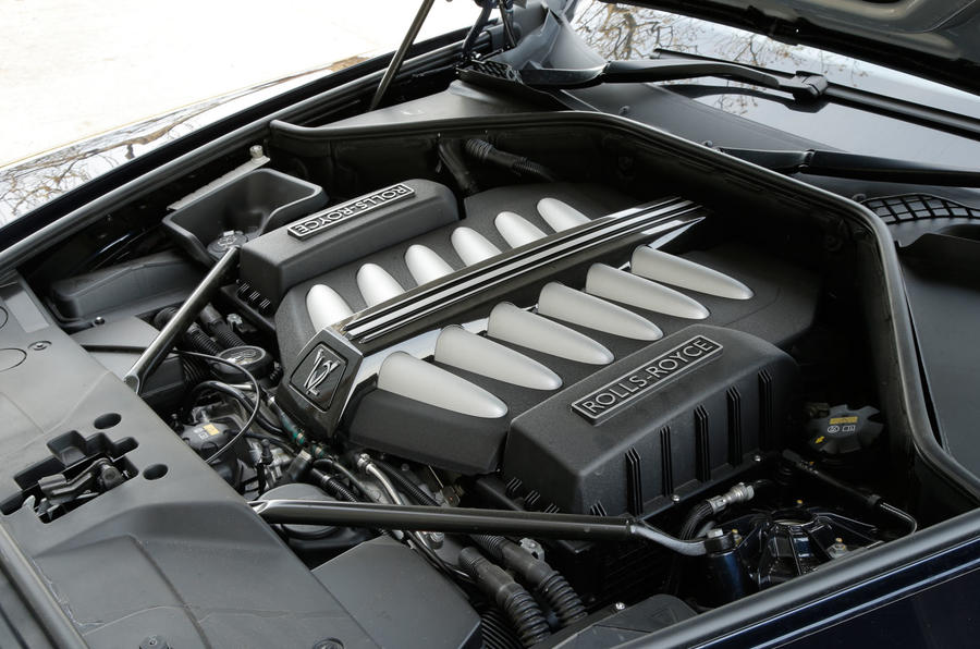 6.6-litre V12 Rolls-Royce Dawn engine