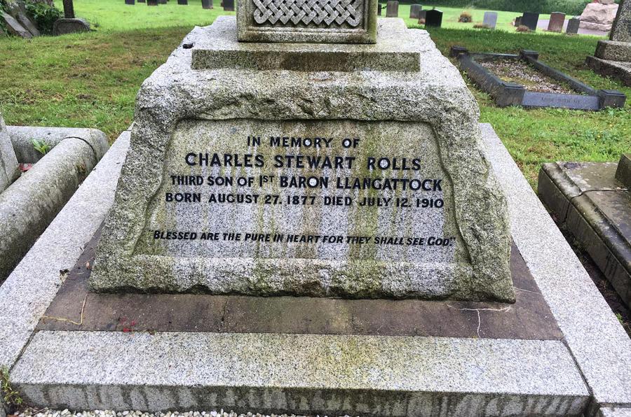 Charles Rolls grave