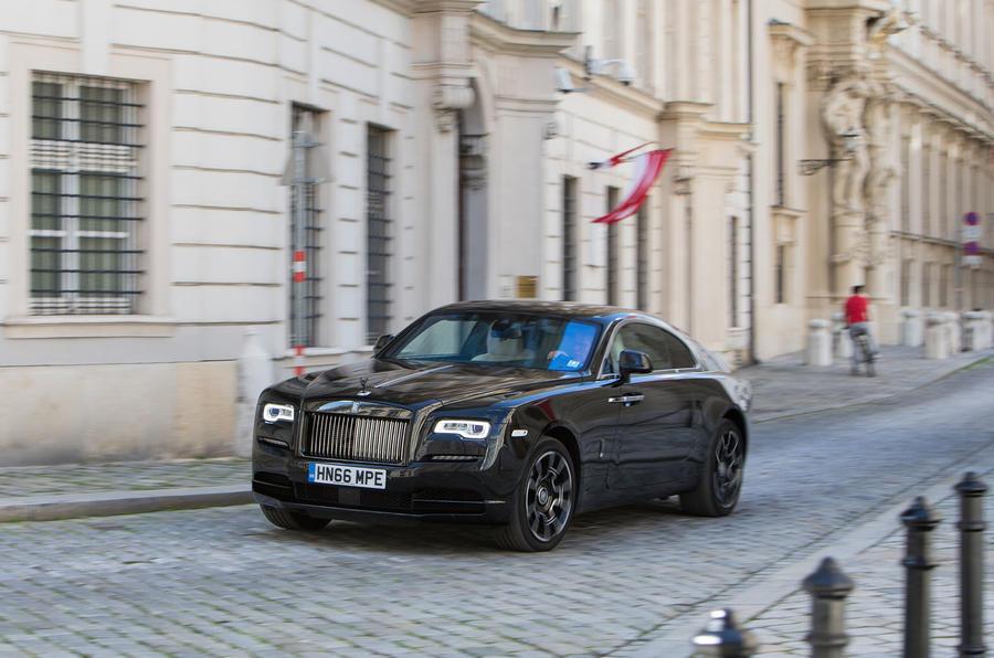 Rolls-Royce Wraith Black Badge road trip across Europe