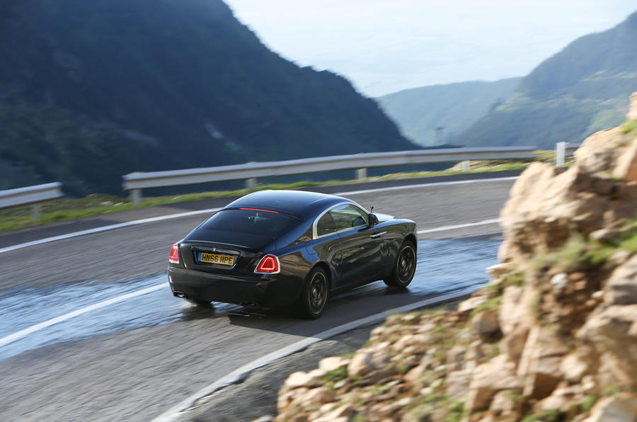 Rolls-Royce Wraith Black Badge road trip across Europe