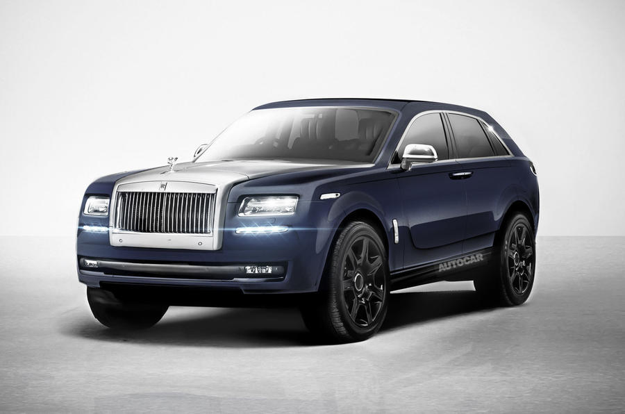 rolls royce 4x4 has been confirmed for production this is an artist s