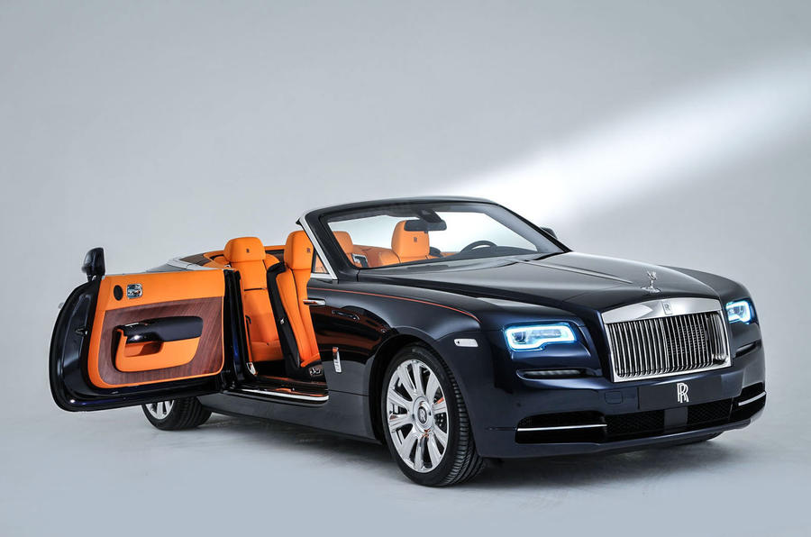2016 Rolls Royce Dawn Revealed Exclusive Studio Pictures