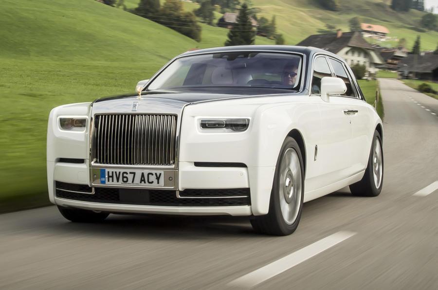 future rolls-royce phantom to go electric | autocar