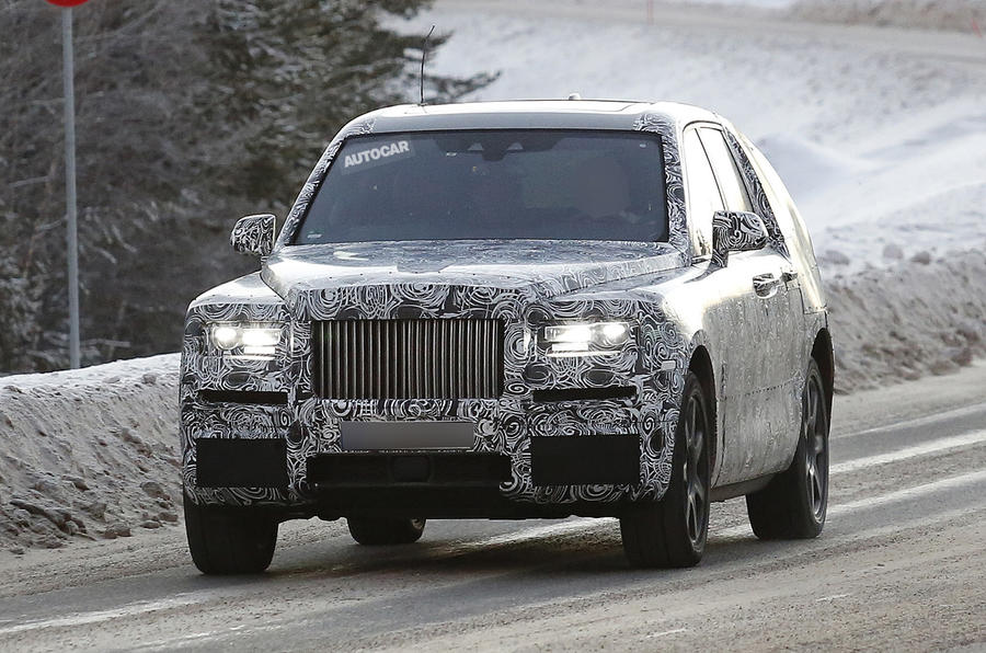 Rolls-Royce Cullinan SUV on course to rival Bentayga in ...