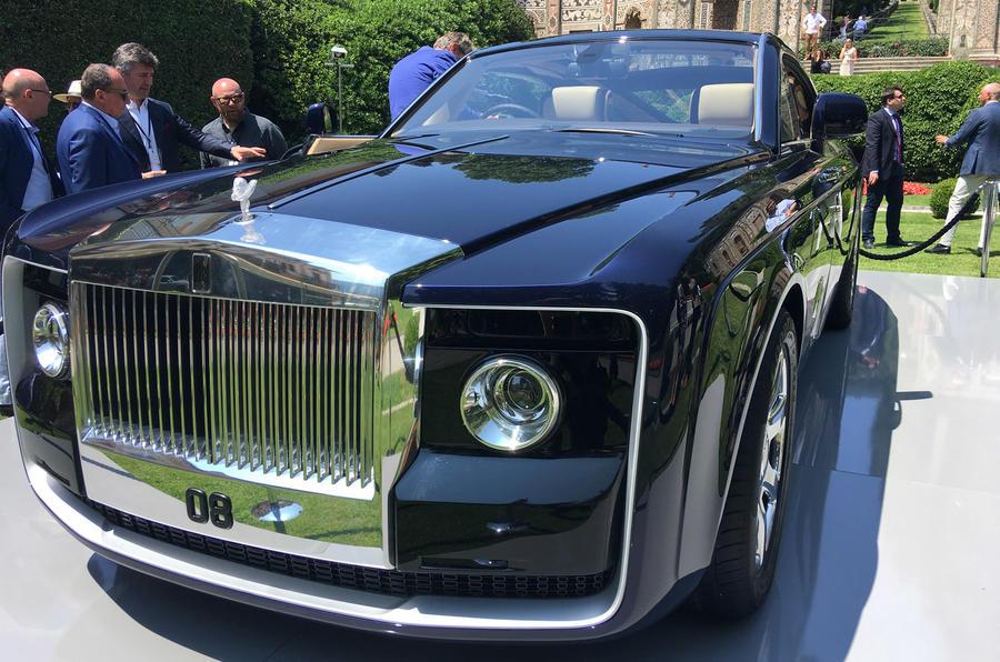 Rolls-Royce Sweptail 2017