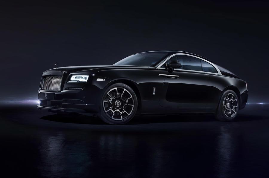 Rolls-Royce Black Badge models