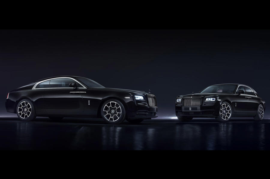 Rolls-Royce Black Badge models