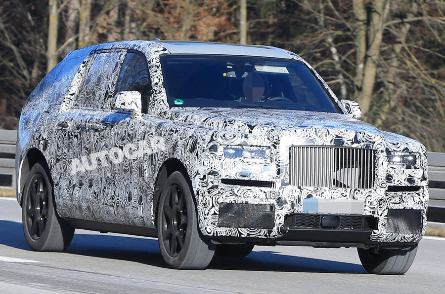 rolls royce cullinan suv on course to rival bentayga in 2018 autocar. Black Bedroom Furniture Sets. Home Design Ideas