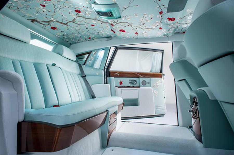 Rolls-Royce Phantom Serenity Showcases Bespoke Design