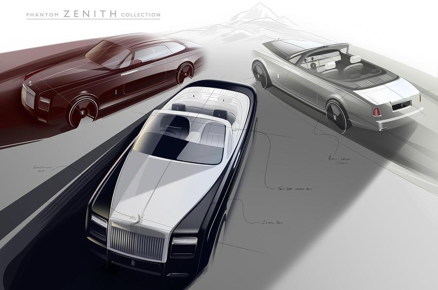 Rolls-Royce 'Zenith' models