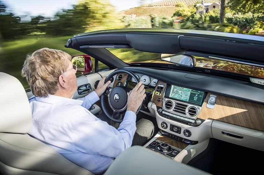 Driving the Rolls-Royce Dawn