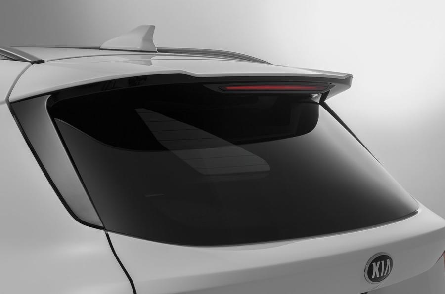 2020 Kia Sorento unveiling - spoiler