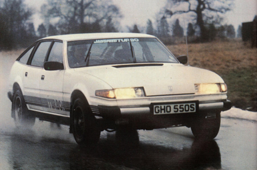 Rover Com Reviews >> A Rover SD1 with a difference, 10 March 1979 - Throwback ...