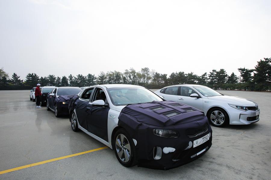 Kia Optima PHEV prototype