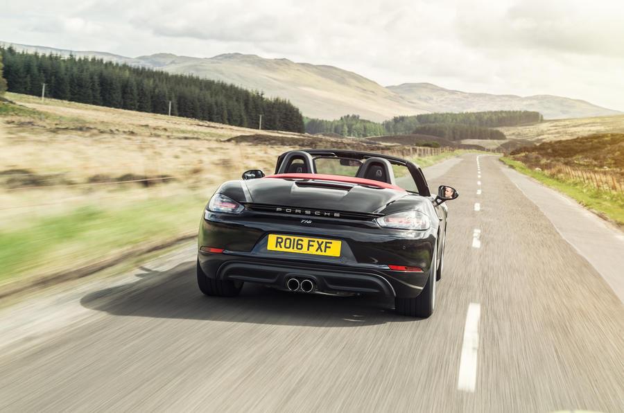 Excellent 2016 Porsche 718 Boxster Review  Autocar