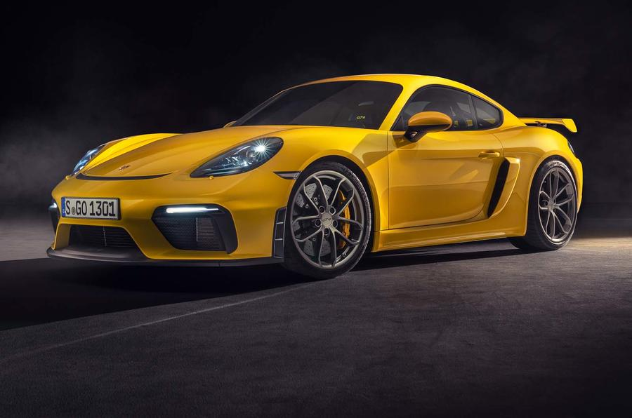 Porsche 718 Boxster Spyder and Cayman GT4 revealed