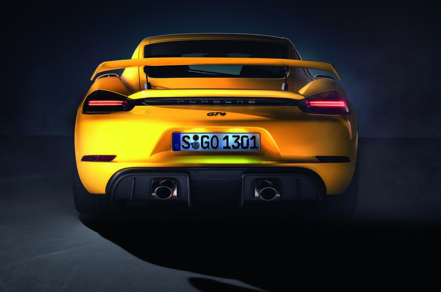 Say Hello To The 414-HP Porsche Cayman GT4 And Spyder