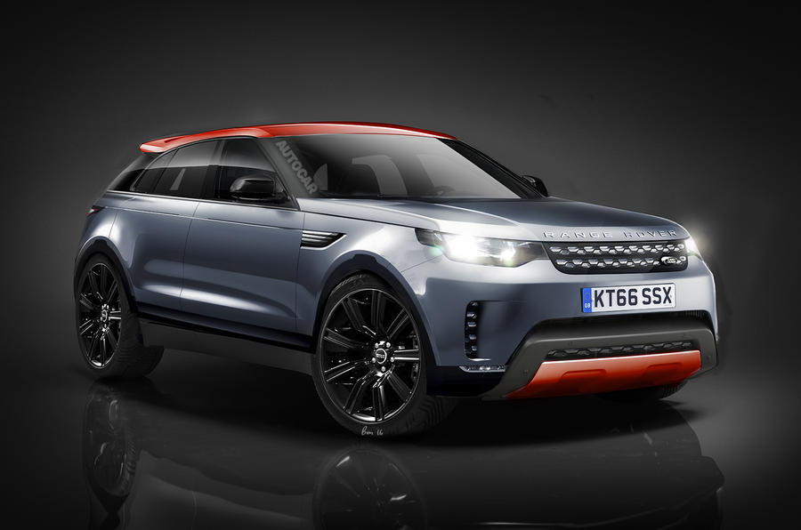 Range Rover Sport Coupé rendering