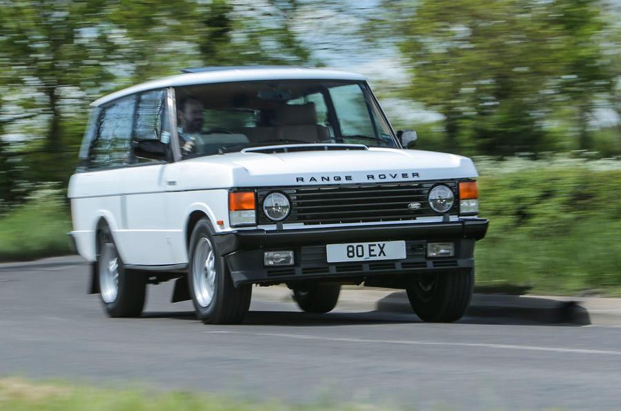Restored Range Rover