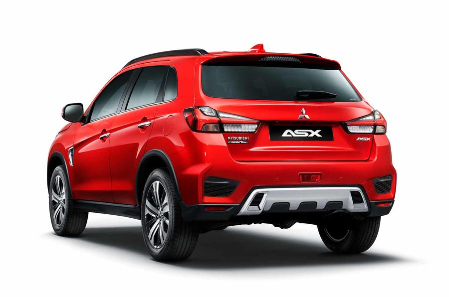Mitsubishi ASX unveiled before debut in Geneva