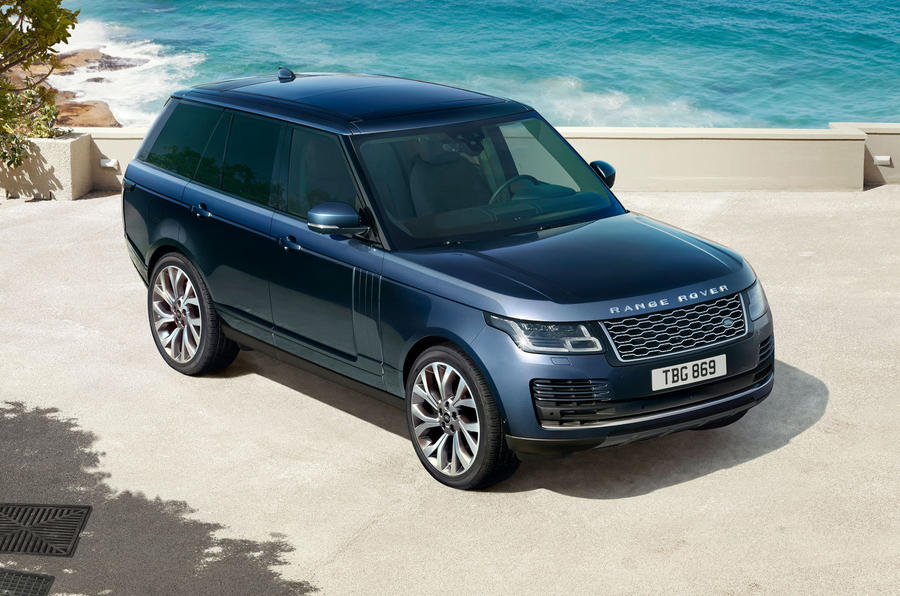 2021 Range Rover Westminster edition - front