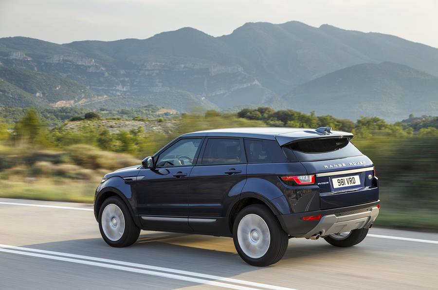 2016 range rover evoque ed4 2wd review review autocar. Black Bedroom Furniture Sets. Home Design Ideas