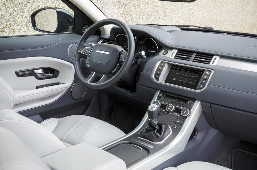 2016 range rover evoque ed4 2wd review autocar. Black Bedroom Furniture Sets. Home Design Ideas