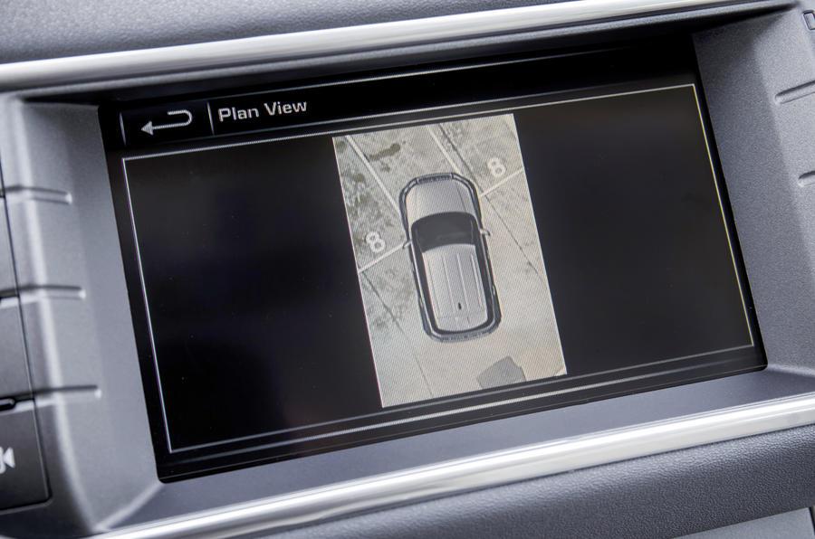 Range Rover Evoque surround camera