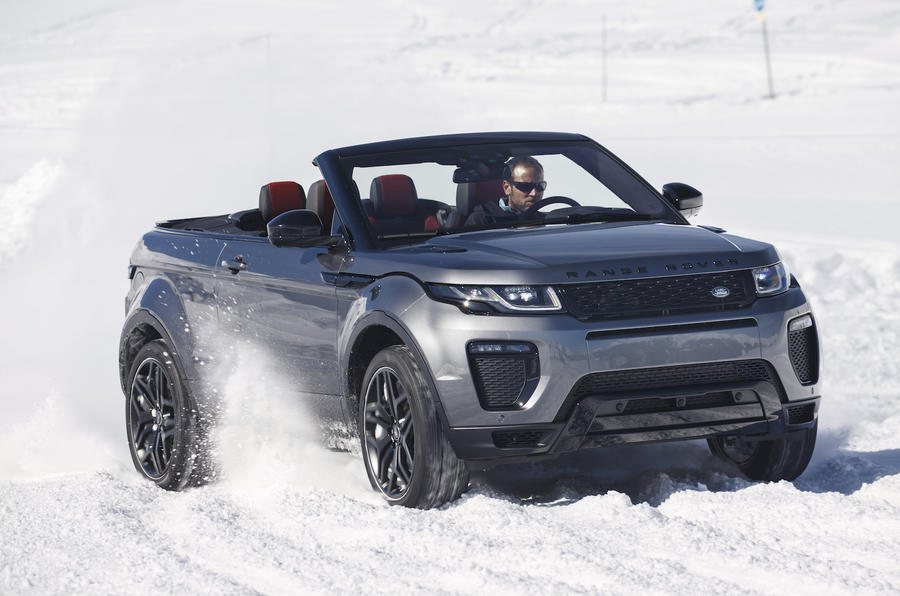 2016 range rover evoque convertible 2 0 si4 review review autocar. Black Bedroom Furniture Sets. Home Design Ideas