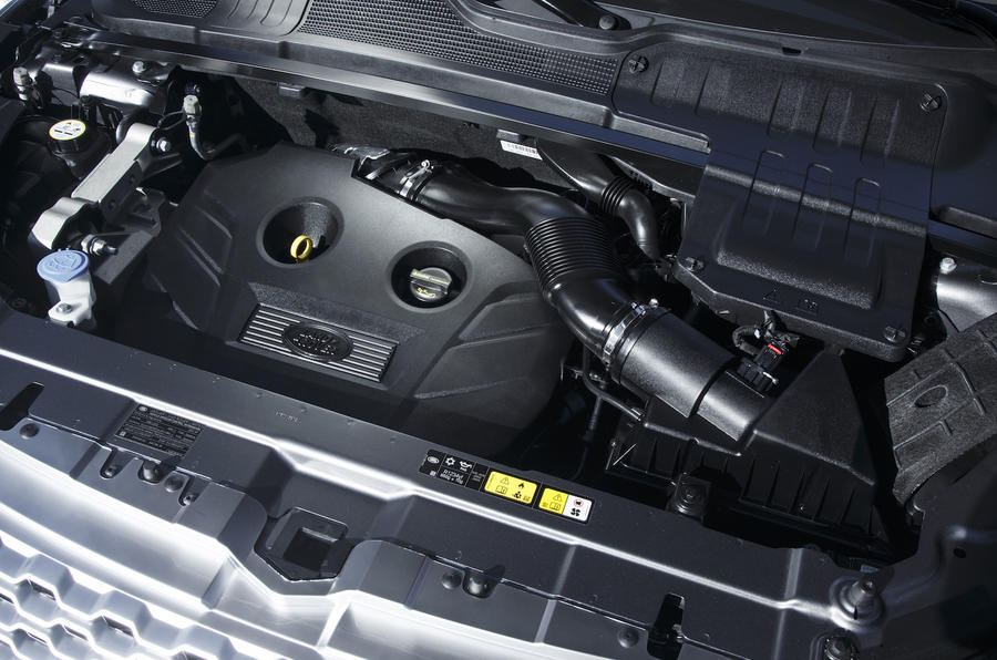 2.0-litre Range Rover Evoque Convertible engine