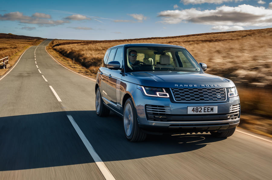 range rover p400e 2018 uk review autocar. Black Bedroom Furniture Sets. Home Design Ideas