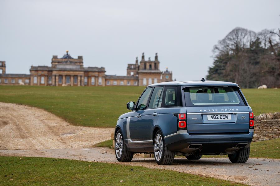 Range Rover rear static
