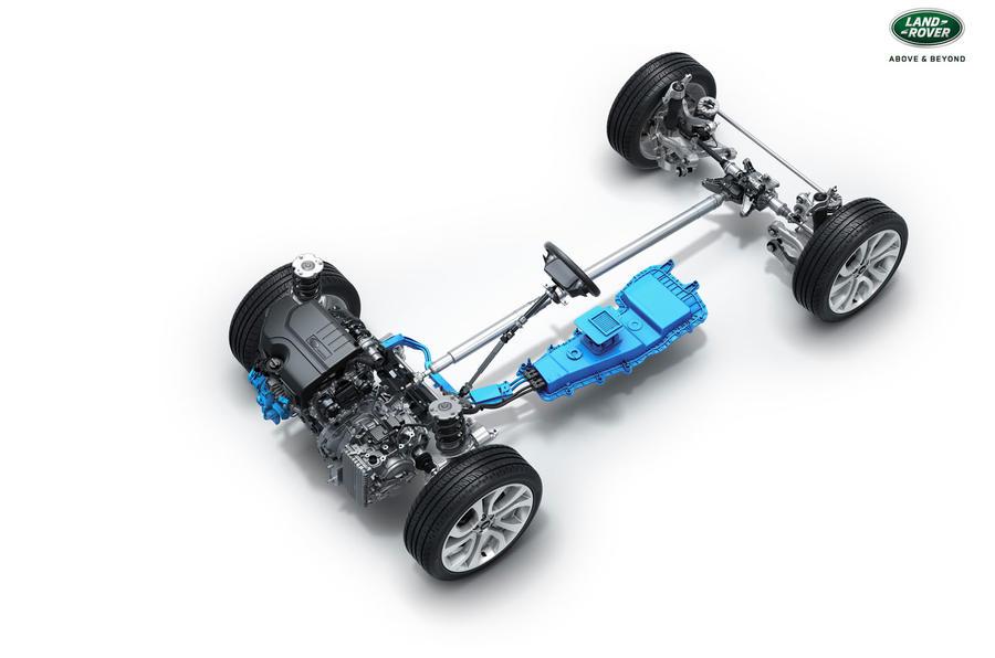 Range Rover Evoque powertrain