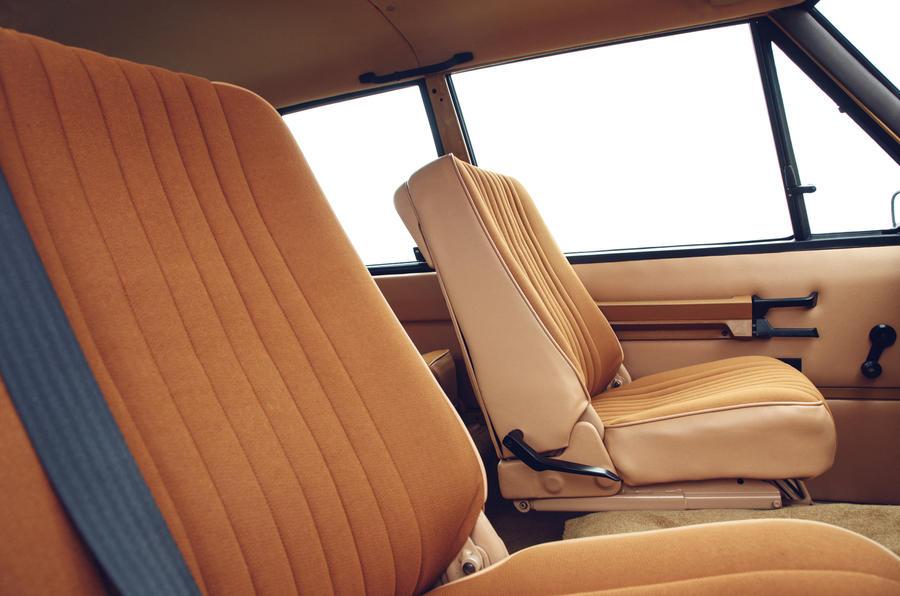 1978 two-door Range Rover interior