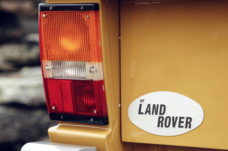1978 two-door Range Rover tail lights