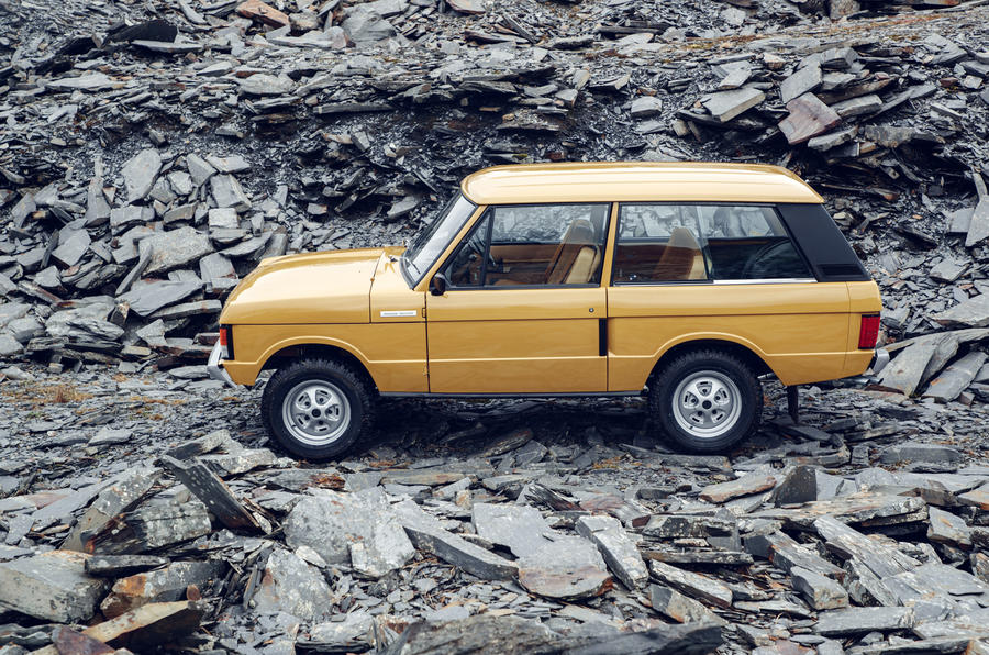 1978 two-door Range Rover side profile