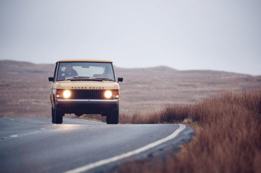 1978 two-door Range Rover headlights