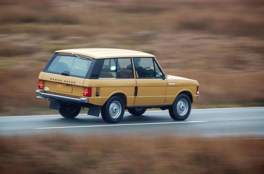 1978 two-door Range Rover rear