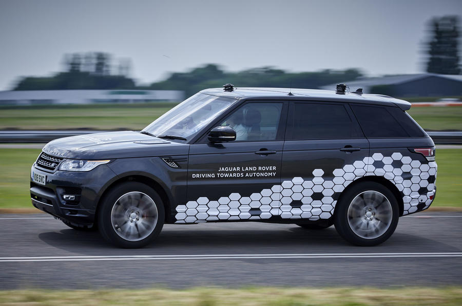 Jaguar Land Rover shows first fully autonomous Range Rover