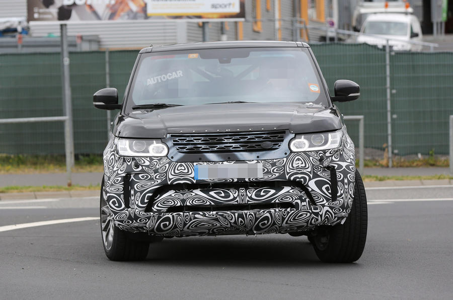 2016 Range Rover Sport Facelift First Spy Shots Autocar