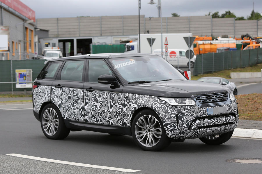 2016 Range Rover Sport facelift - first spy shots | Autocar